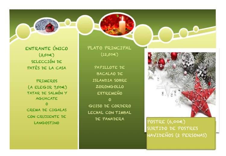 Menú de Navidad en CocinArte Ciudad Rodrigo