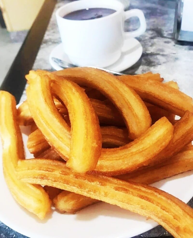 Primer domingo del año con chocolate con churros
