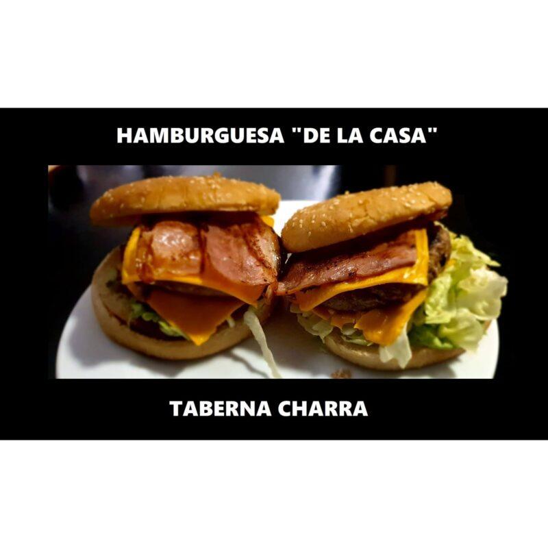 ¡Noche de hamburguesa de la casa de La Taberna Charra!