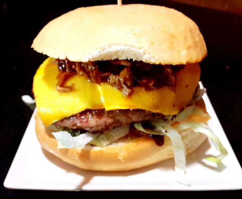 ¡Pedazo de hamburguesas!