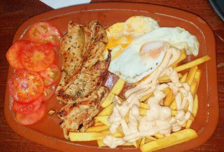 ¡Un plato combinado para cenar!