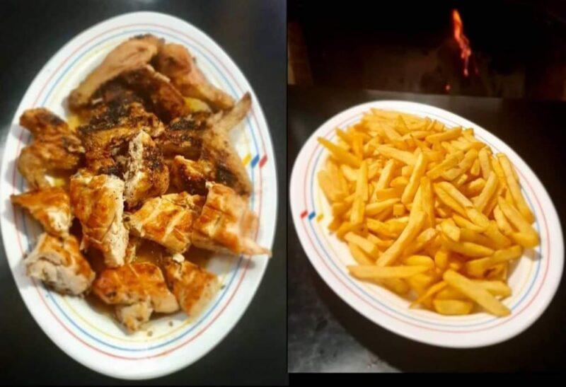 Pollo a la brasa con patatas – Taberna Charra