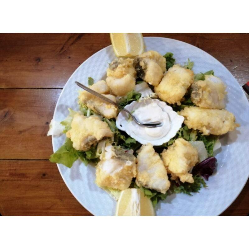 Fritos de bacalao – Sidrería La Mina