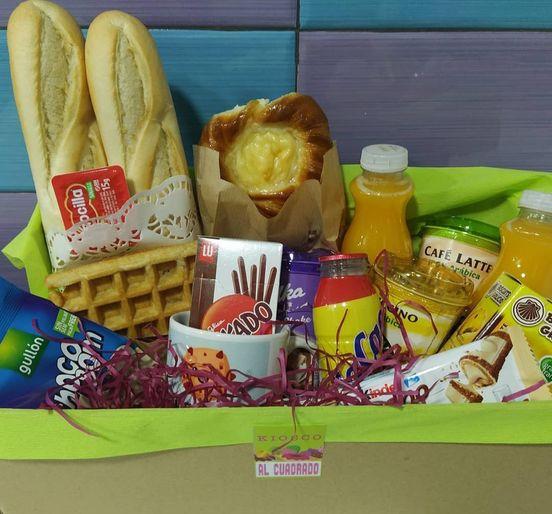 Cajas dulces y saladas – Kiosko Al Cuadrado