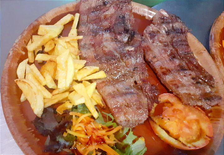 Variedad de carnes en La Cocina de Jose