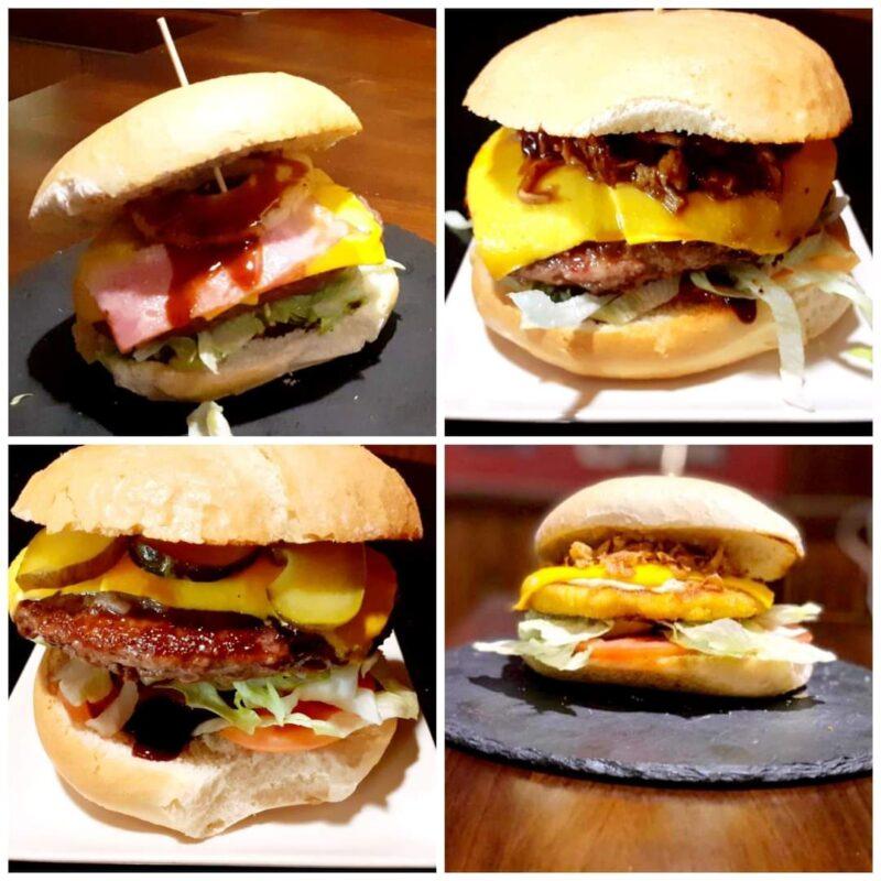 ¡Qué buena pinta tienen estas hamburguesas!