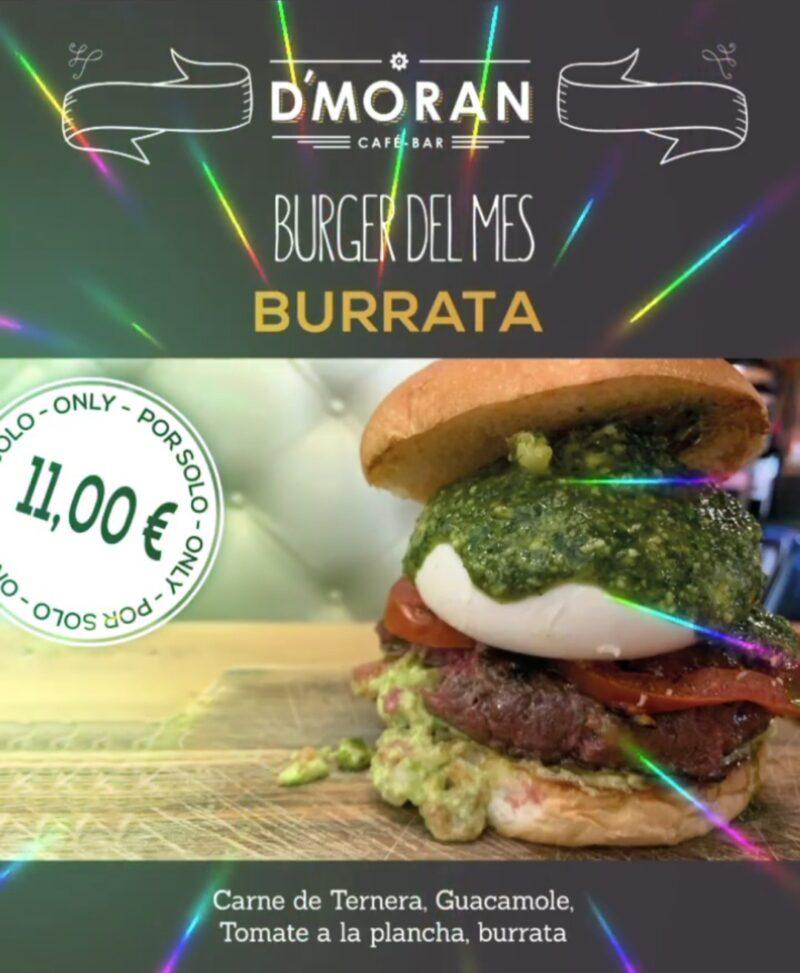 La Burger del mes – Café D´Morán