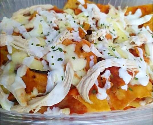 Auténtica comida tradicional mexicana