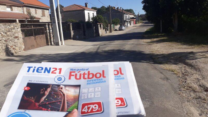 Distribuimos publicidad de negocios en Ciudad Rodrigo y alrededores