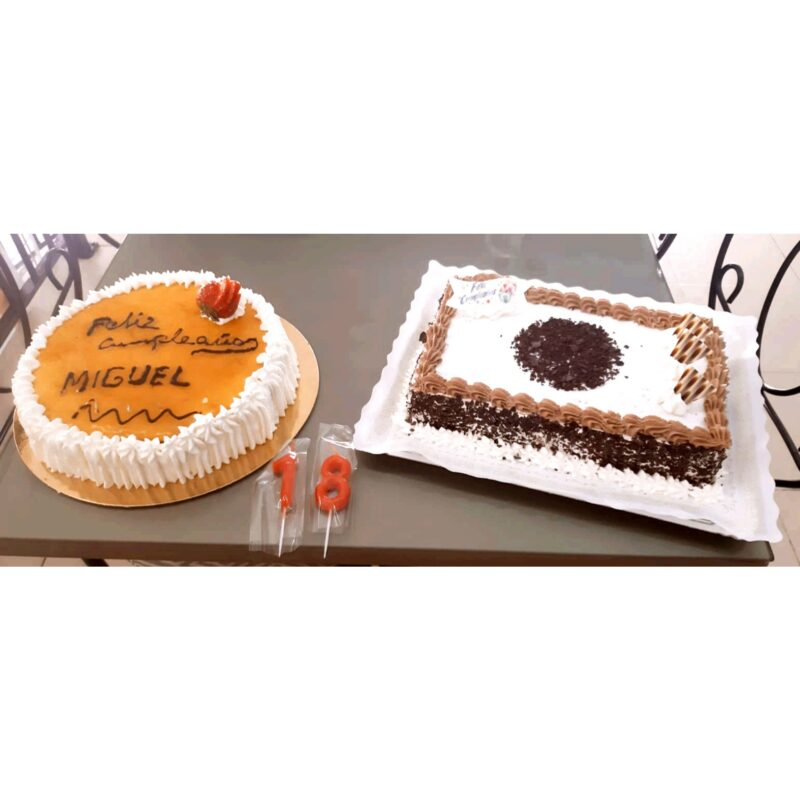 ¡Te llevamos la tarta de cumpleaños a casa!